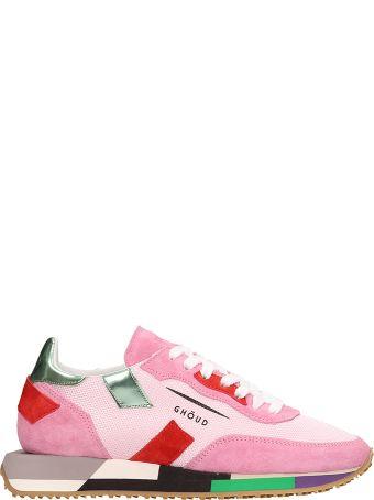 GHOUD Rush Multicolor Mesh Suede Sneakers