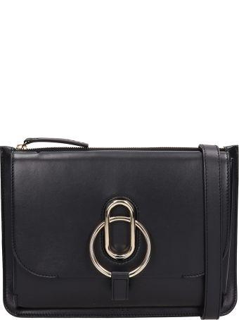 Stée Maya Black Leather Bag