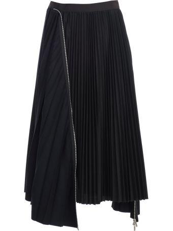 Sacai Skirt Plisse
