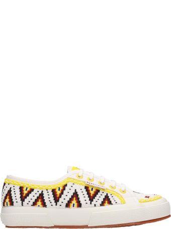Superga White Canvas Sneakers