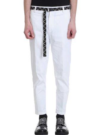 Low Brand White Cotton Pants