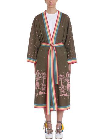 Alanui Kimono Hawaiian Belted Long Cardigan