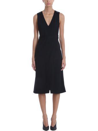 Victoria Victoria Beckham Sleeveless Wrap Dress