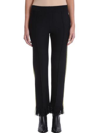 Alanui Black Wool Trousers