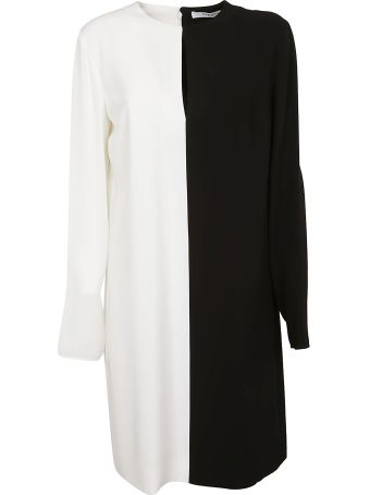 Givenchy Contrast Mid-length Dress