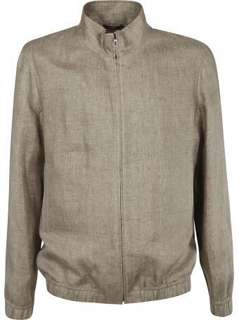 Loro Piana High-neck Zipped Jacket