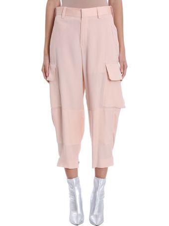 Neil Barrett Pink Cotton Cargo Pants