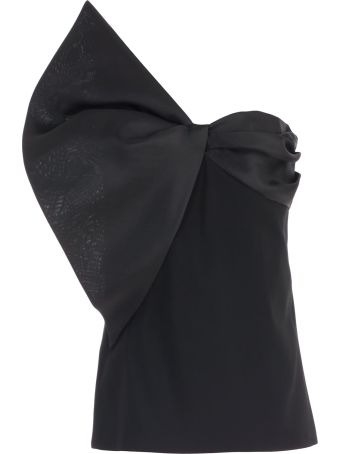 Lanvin Strapless Asymmetric Top