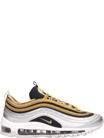 Nike Air Max 97 Special Edition Metallic Silver And Gold Sneakers