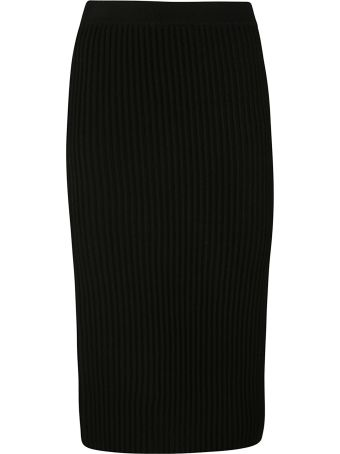 Victoria Beckham Ribbed Skirt
