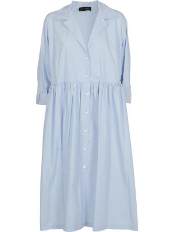 Roberto Collina Pleated Shirt Dress