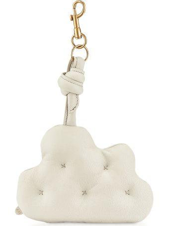 Anya Hindmarch Chalk Soft Nappa Chubby Cloud Charm