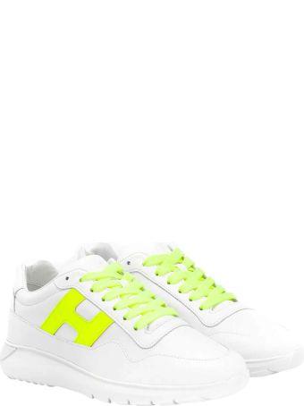 Hogan White Sneakers Teen