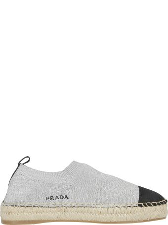 Prada Sock-style Espadrilles