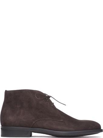 Moreschi Brown Desert Boots