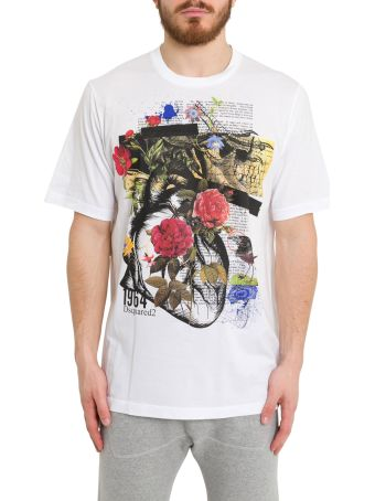 Dsquared2 Graphic Print Tee