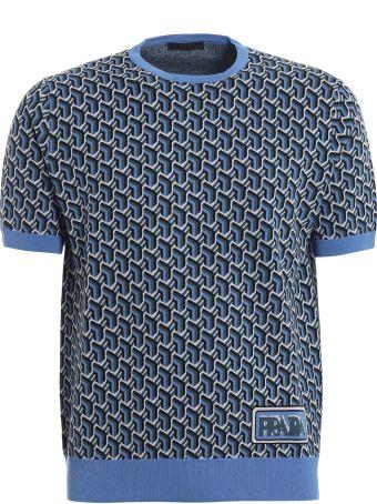 Prada Printed Sweater