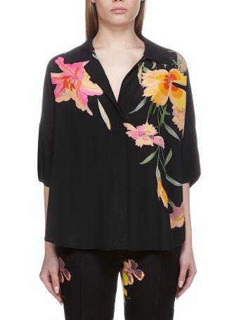 Etro Floral Kimono Shirt
