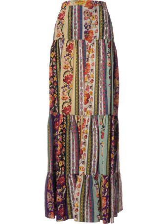 Etro Floral Print Skirt