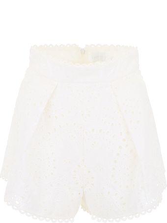 Zimmermann Embroidered Shorts