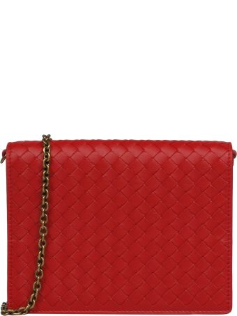 Bottega Veneta Braided Pattern Shoulder Bag