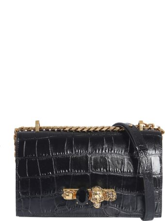 Alexander McQueen Shoulder Bag With Jewel