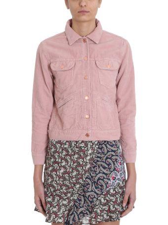 Isabel Marant Étoile Pink Corduroy Foftya Jacket