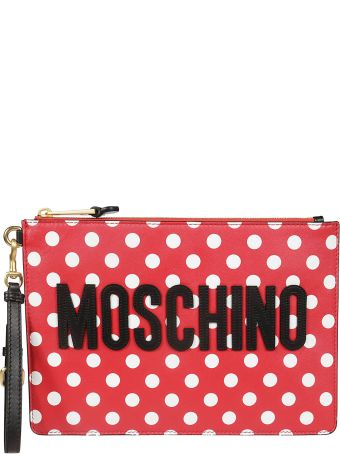 Moschino Polka Dots Clutch