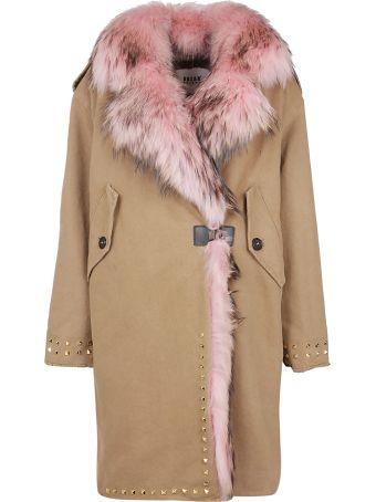 Bazar Deluxe Fur Trim Coat
