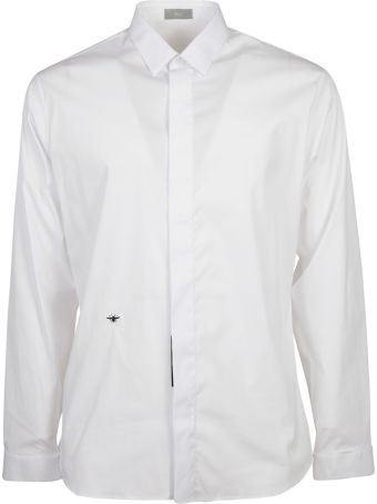 Christian Dior Bee Embroidered Shirt