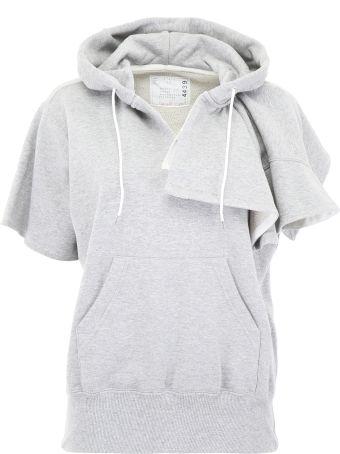 Sacai Short-sleeved Hoodie