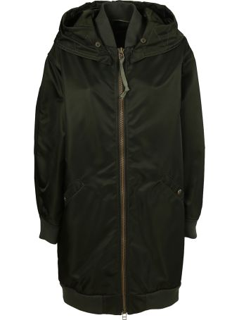 Mr & Mrs Italy Logo Patch Parka