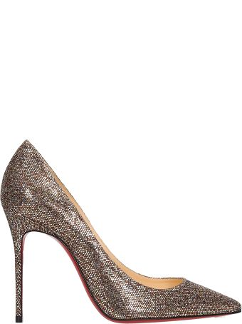 Christian Louboutin Glitter Leather 554 Decollete