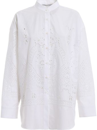 Ermanno Scervino Embroidered Shirt