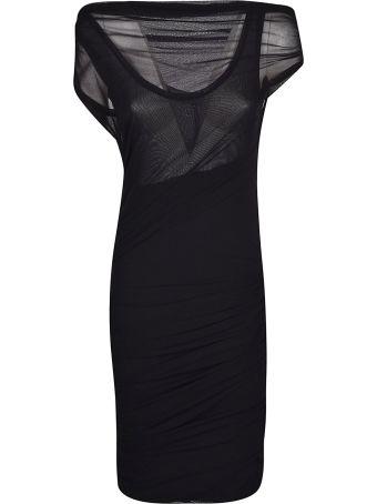 MSGM Sheer Pattern Dress