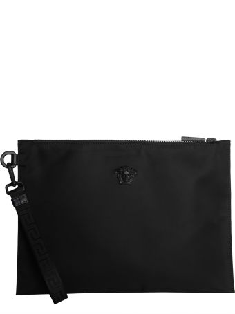 Versace Large Pouch With Medusa Head