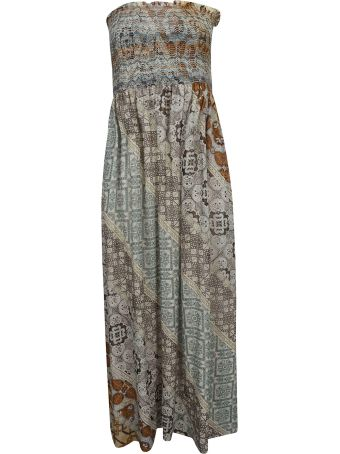 Faliero Sarti Printed Long Dress