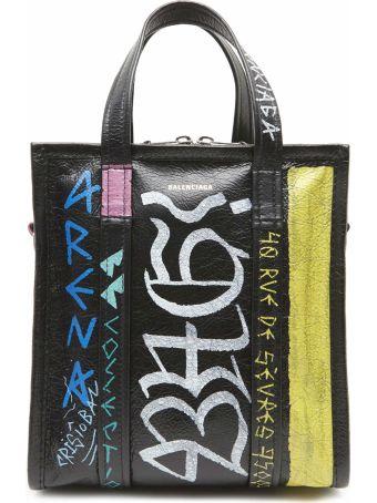 Balenciaga 'bazar Xd Graffiti' Bag