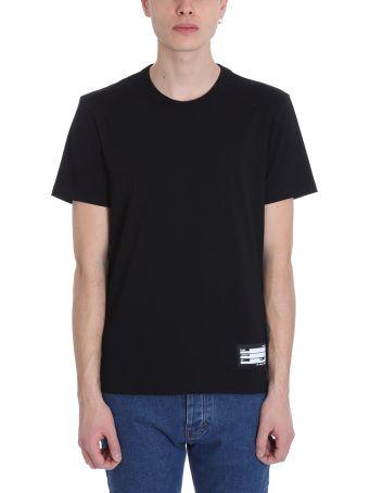 Ami Alexandre Mattiussi Crewneck Black Cotton T-shirt