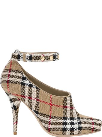 Burberry Open Toe With Vintage Check Motif
