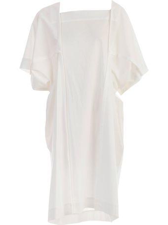 Issey Miyake Square Neck Dress