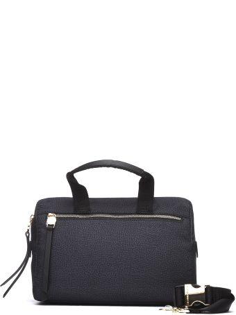 Borbonese Hand Bag In Black Nylon