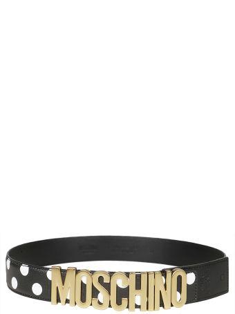 Moschino Logo Pea Belt