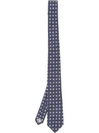Thomas Mason Yoko Tie With Floral Print