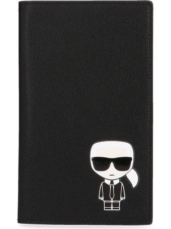Karl Lagerfeld 'k/ikonik' Passaportholder