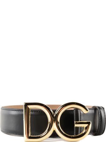 Dolce & Gabbana Cuoio Lux Dg Belt