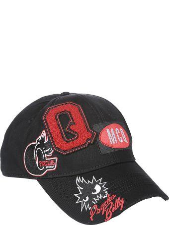 McQ Alexander McQueen Mcq Logo Embroidered Cap