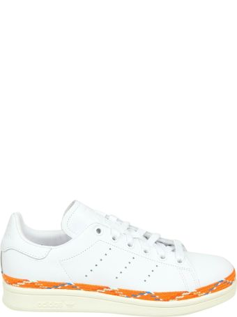 Adidas Originals Sneakers Stan Smith New Bold Leather White Color