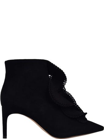 Sophia Webster Ruffled Perforated Boots