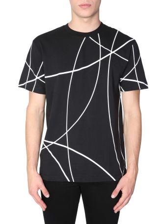 Les Hommes Round Collar T-shirt